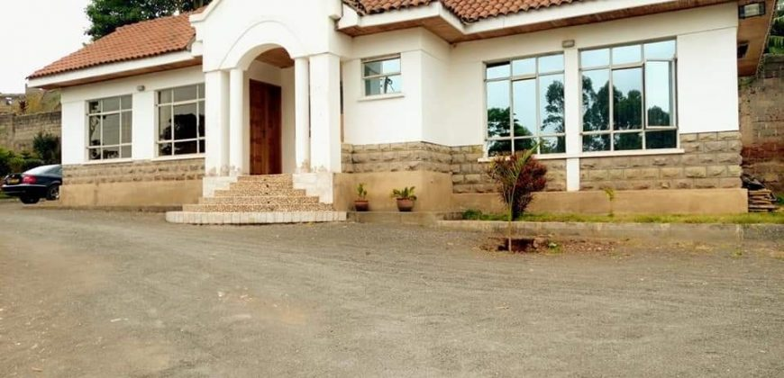 5 Bedroom  Mzima Spring Area At Lavington